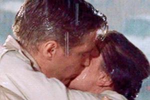 Audrey Hepburn et George Peppard
